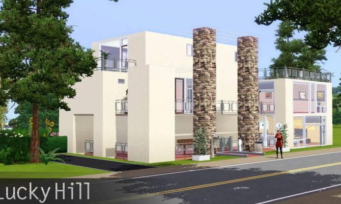 Mod Sims Luckyhill Modern Big House
