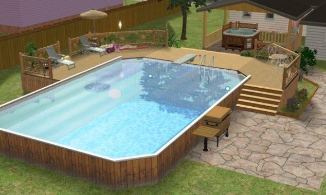Mod Sims Make Above Ground Pool