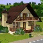 Mod Sims Maywood Lane Based Real Home Plan