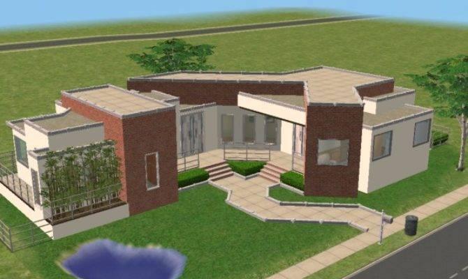 Mod Sims Odds Angles Modern House