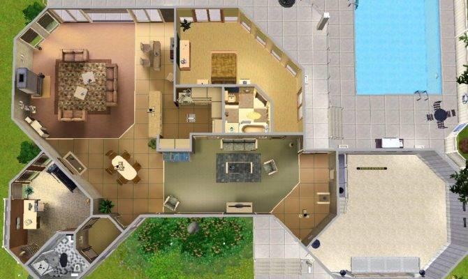 Mod Sims Picklin House Redwood Pkwy