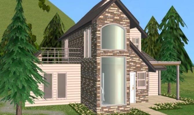 Mod Sims Starter House Steinwand Lich