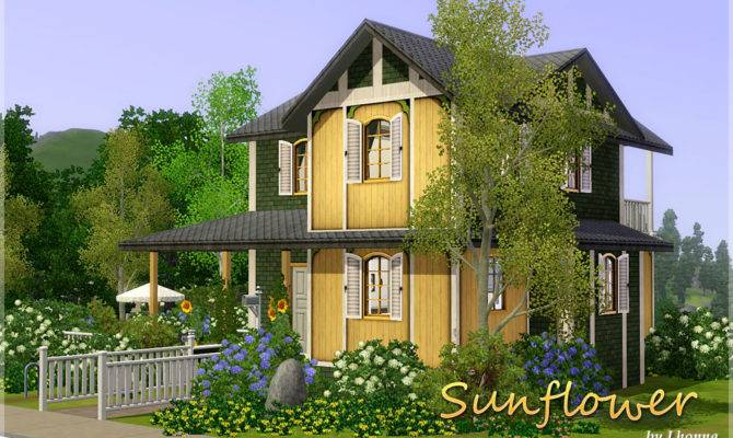 Mod Sims Sunflower Small House
