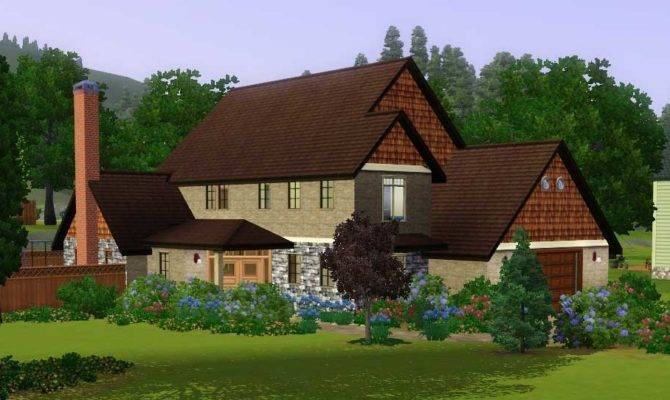 Mod Sims Surrounded Large House Families