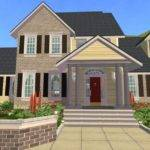 Mod Sims Traditional Style Home
