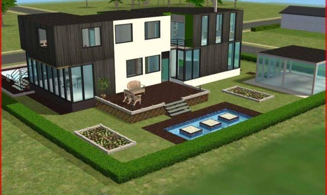 Mod Sims Ultra Modern House