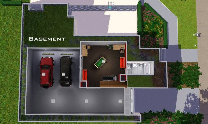 18 House Plans With Underground Garage, Home Plans With Basement Garage