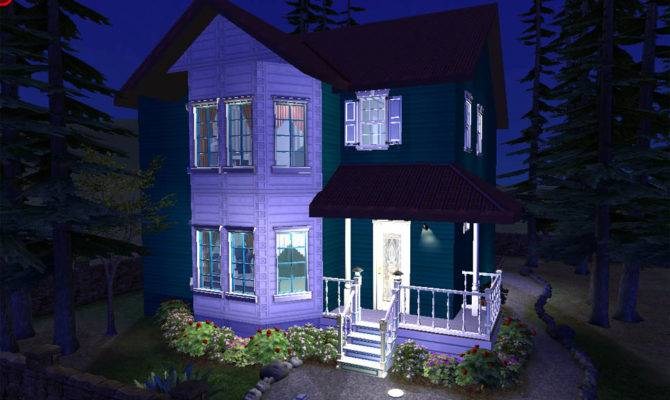 Mod Sims Victorian Eclectic Home