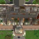 Mod Sims White House Fully Furnished