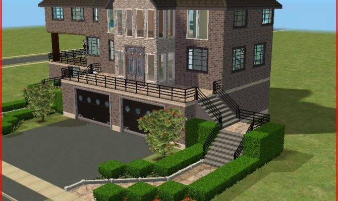 Mod Sims Wisconstan Mansion Awesome Large Families