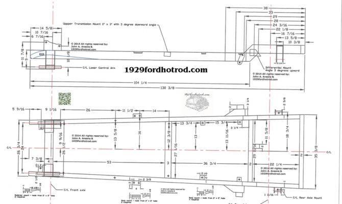 Model Frame Fordhotrod