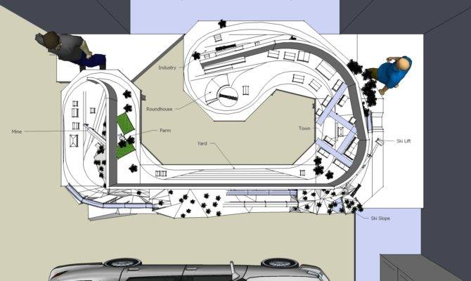 Model Railroad Design Garage Layout