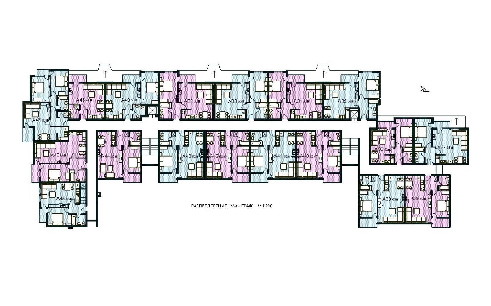 Modern Apartment Design Plans Floor Plan Home House Plans 75616