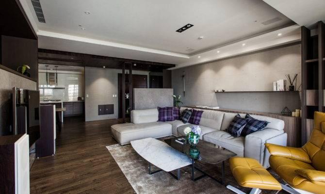 Modern Apartments Minimalism Style Taiwan