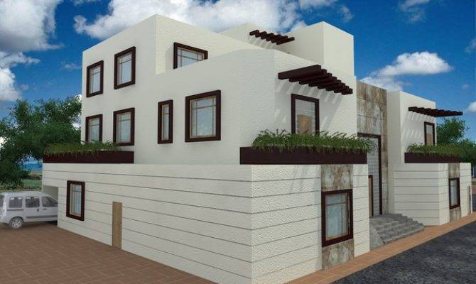 Modern Arabic Style Exterior