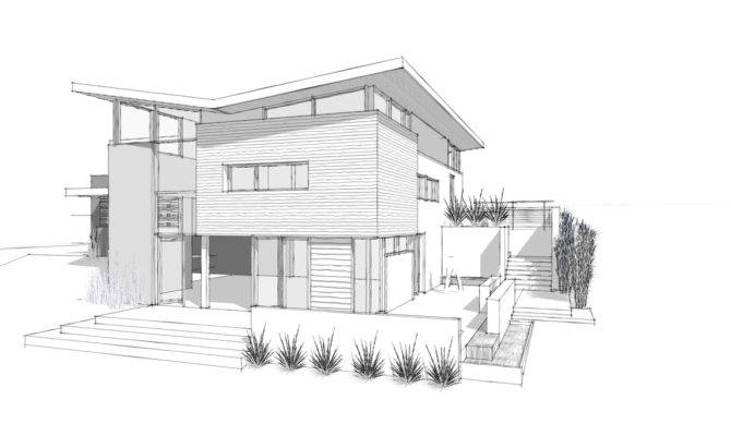 Modern Architectural Sketches Home Architecture