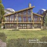 Modern Architecture Floor Plans Log Home