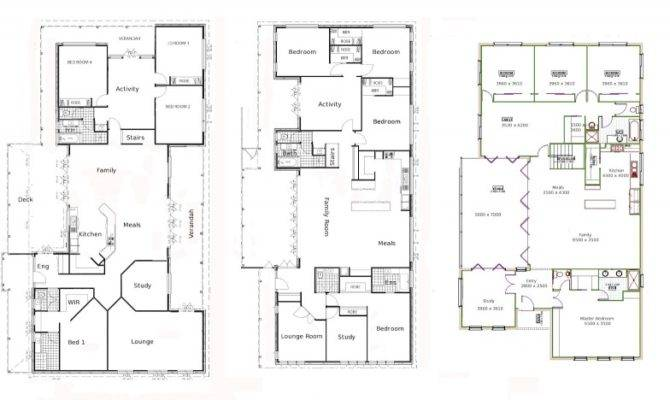 Modern Architecture House Floor Plans Contemporary Designing