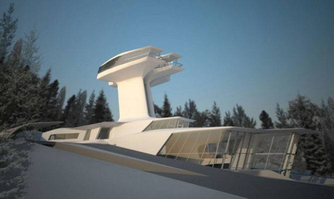 Modern Architecture Ultra Futuristic