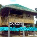 Modern Bahay Kubo Floor Plan Joy Studio Design Best
