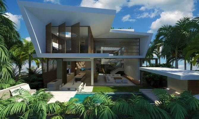 Modern Beach House Chris Clout Design