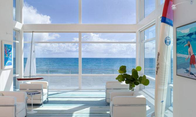 Modern Beach House Decorating Style Best