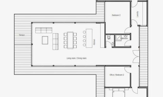 Modern Beach House Plan Plans