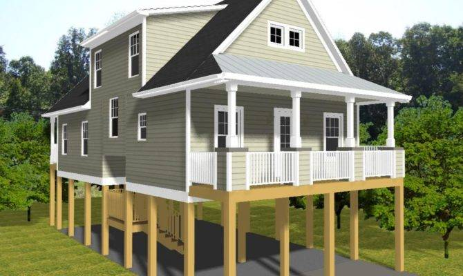 Awesome House On Stilts Floor Plans 6 Pictures - House Plans