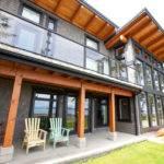Modern Beachfront Timber Frame Contemporary Exterior