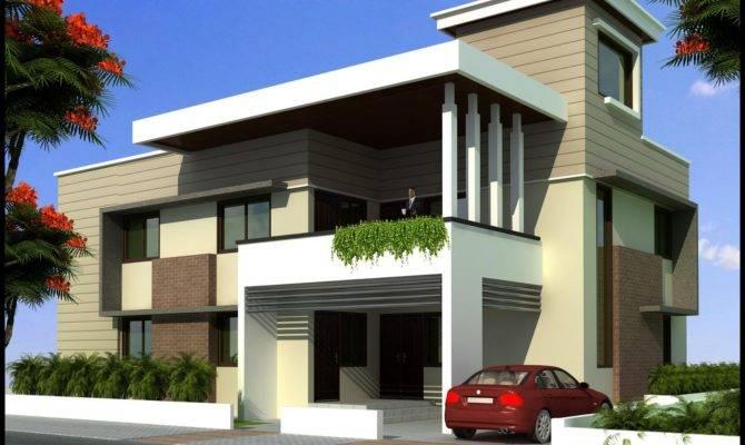 Modern Beautiful Duplex House Design Home Elements