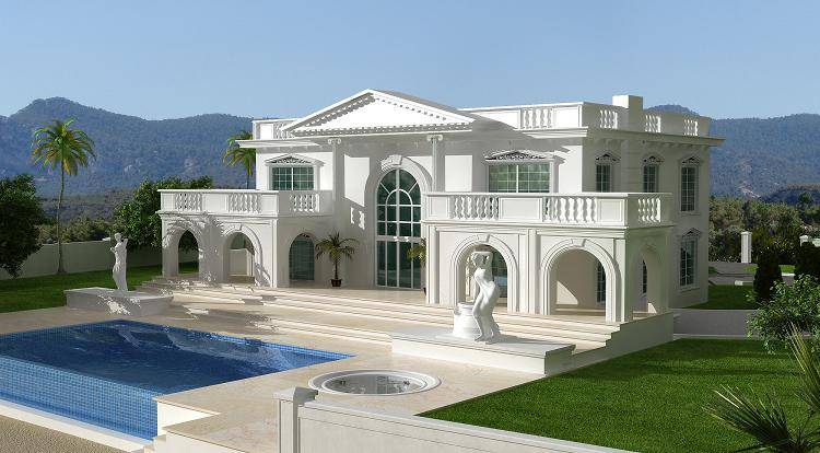 Modern Beautiful Homes Designs Exterior Views Home Design House Plans 68643