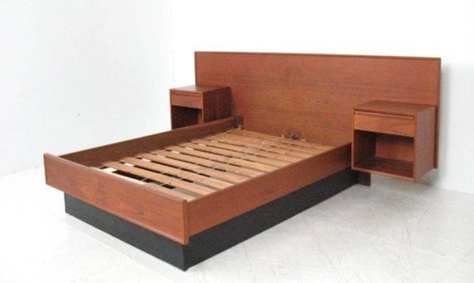 Modern Bedframes Floating Bed Frame