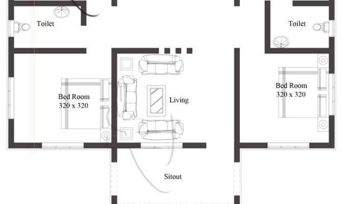 Modern Bedroom One Story House Plan Pinoy Eplans