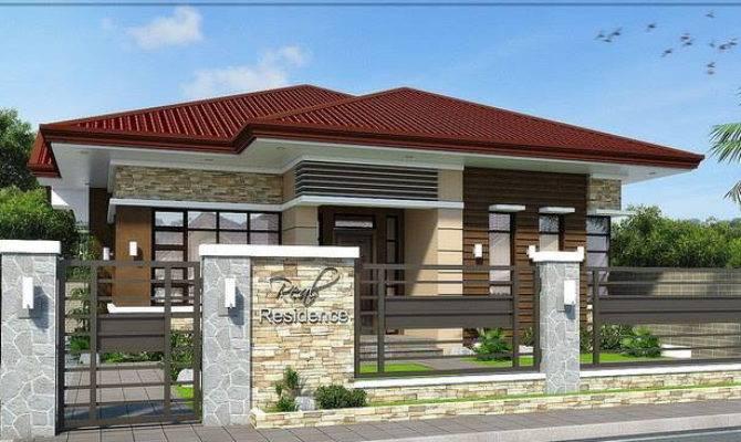 Modern Bungalow Design Concept House