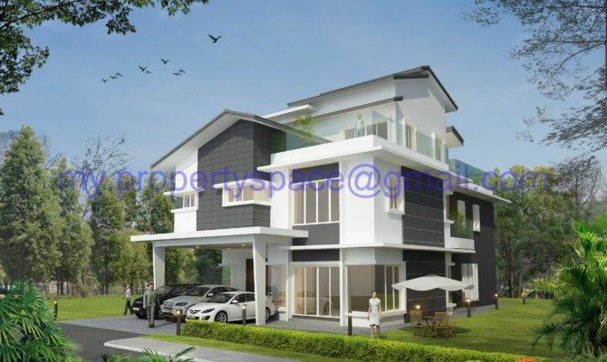 Modern Bungalow House Design Malaysia Success