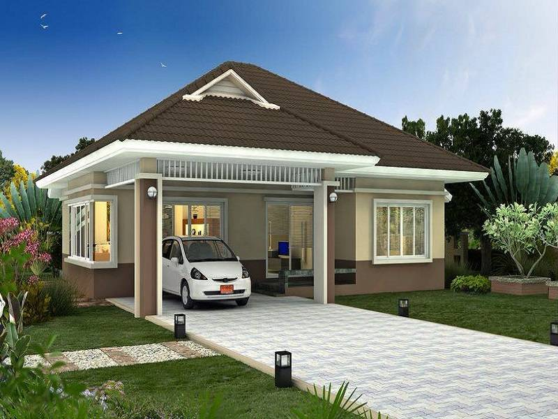Modern Bungalow House Plans Style Plan House Plans 129093