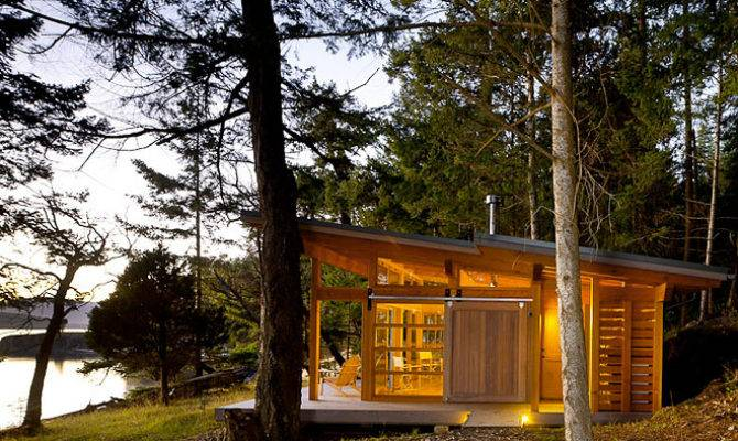 Modern Cabin All Too Frequently More Than But