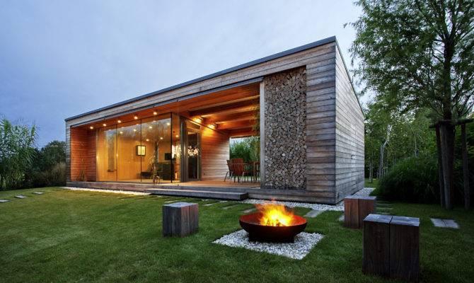 Modern Cabin Holiday Cottage Design