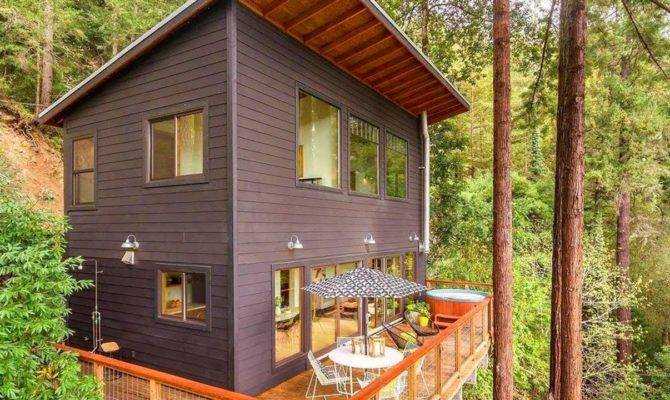 Modern Cabin Plans Loft Colors House Plan
