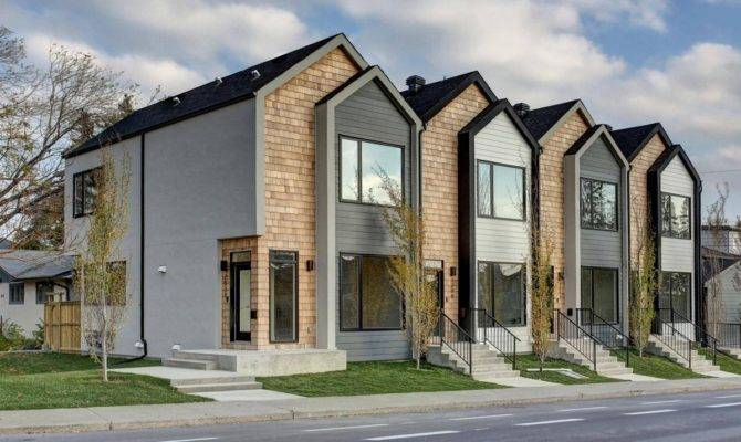 Modern Calgary Townhouse Breaks Record Price Globe