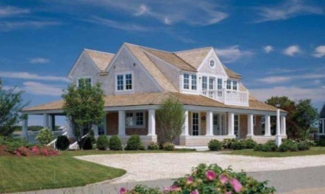 Modern Cape Cod Style House Ranch
