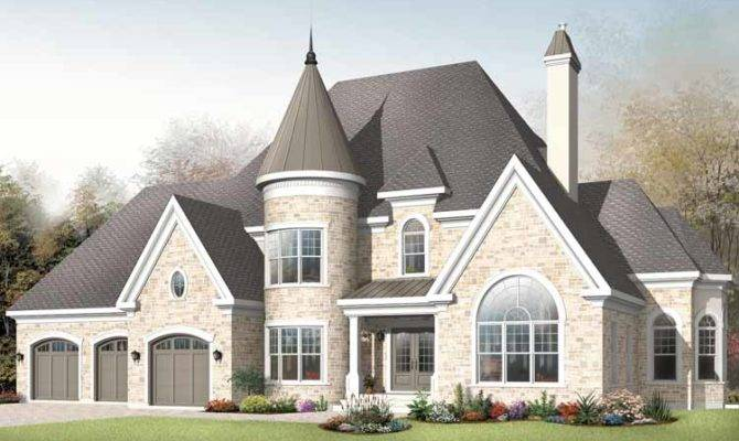 Modern Castle Style Homes Home Plans