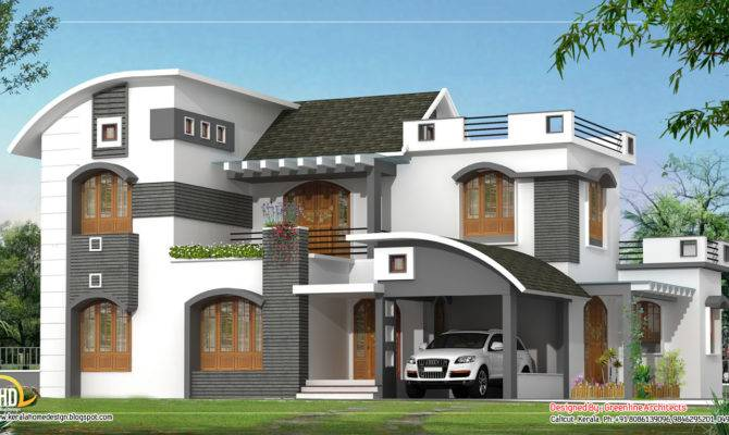 Modern Contemporary Home Design Square Meter