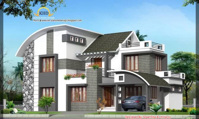 Modern Contemporary Home Kerala Design Floor
