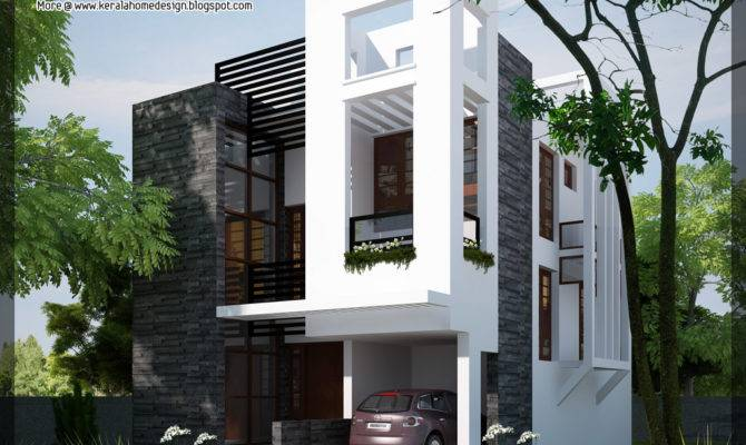 Modern Contemporary Home Kerala