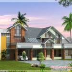 Modern Contemporary House Design Kerala Home