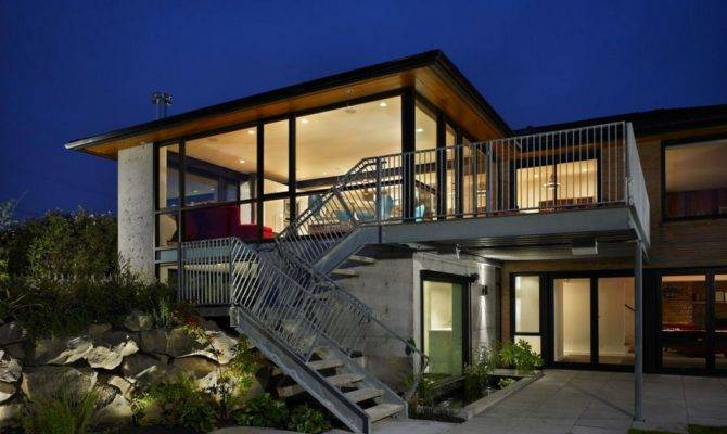 Modern Contemporary House Plans Architectural Design Home