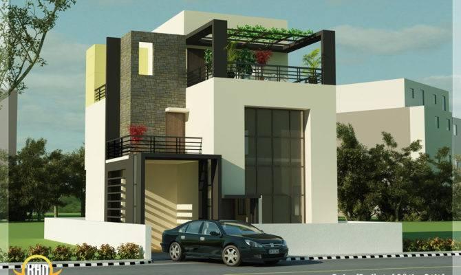 Modern Contemporary House Render