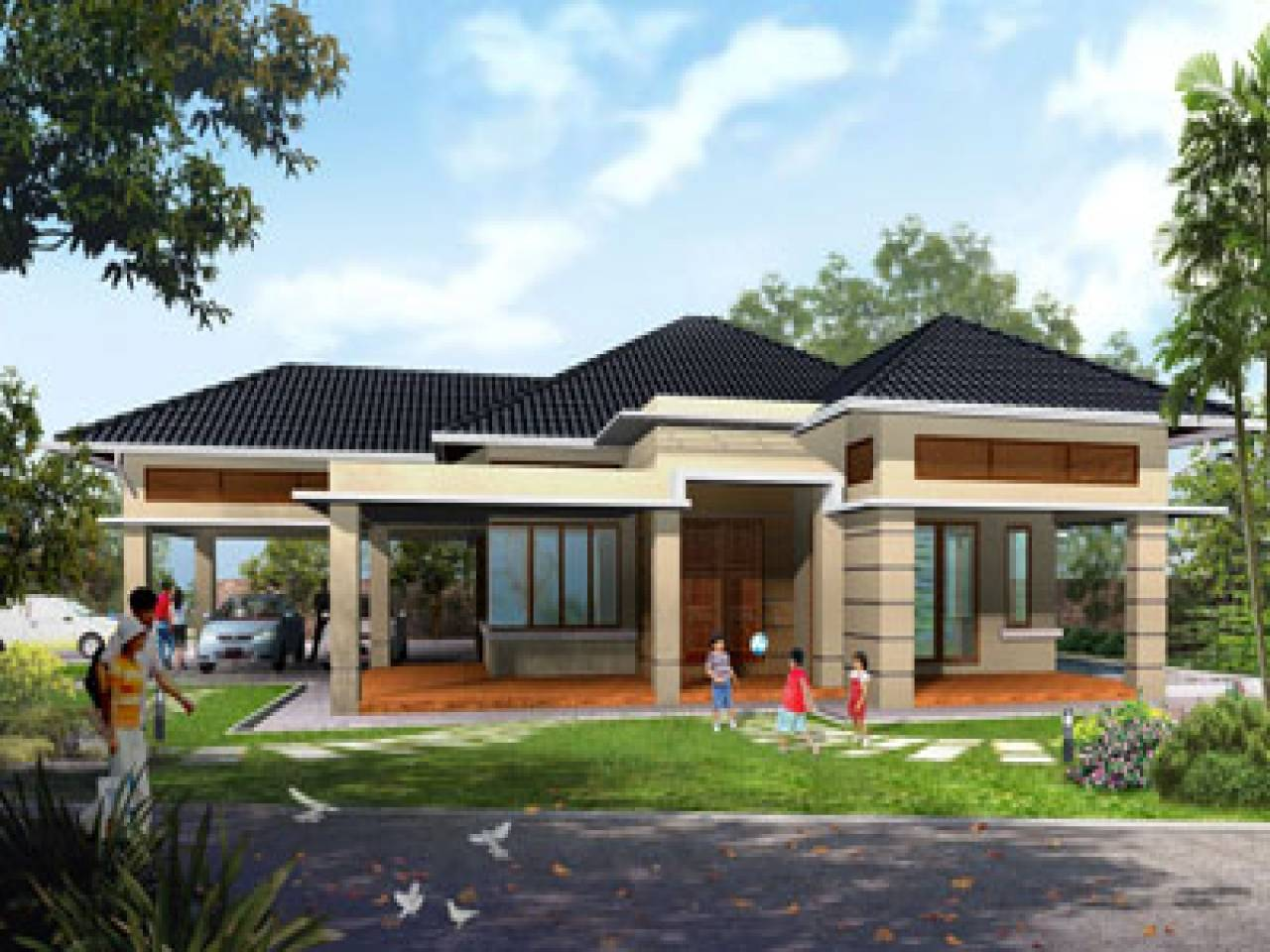 24 Best Modern One Story Homes - House Plans