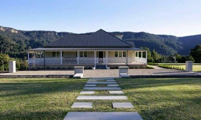 Modern Country Farmhouse Plans Contemporary